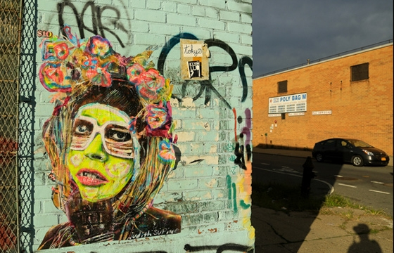 New work from Judith Supine in Brooklyn
