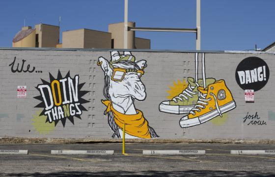 Converse x Juxtapoz: Wall To Wall Austin featuring Josh Row