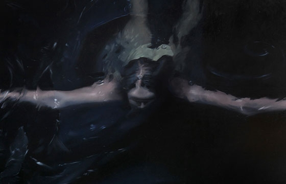 Henrik Uldalen's Dark Figurative Paintings