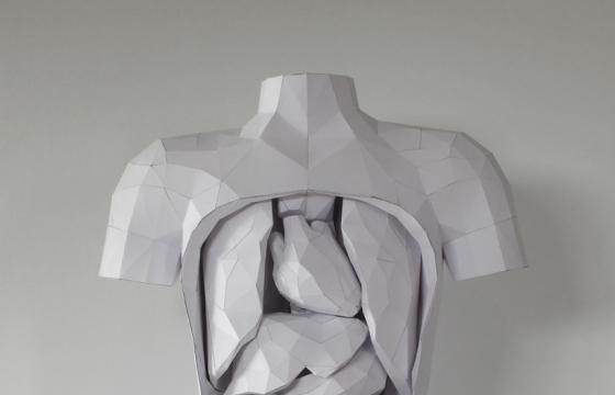 The Paper Torso by Horst Kiechle