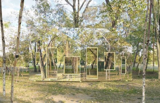 Invisible Barn by STPMJ Design Team