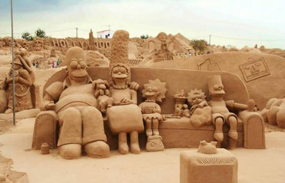 Fiesa International Sand Sculpture Festival in Portugal