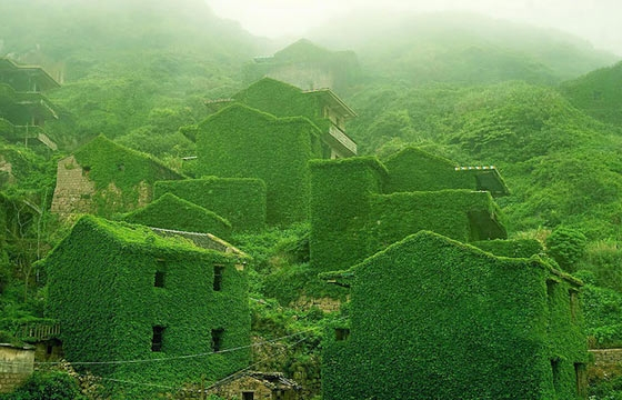 Nature's Revenge: A Fishing Village in China Reclaimed