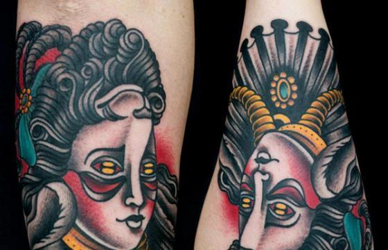 Miss Arianna's Traditional Tattoos