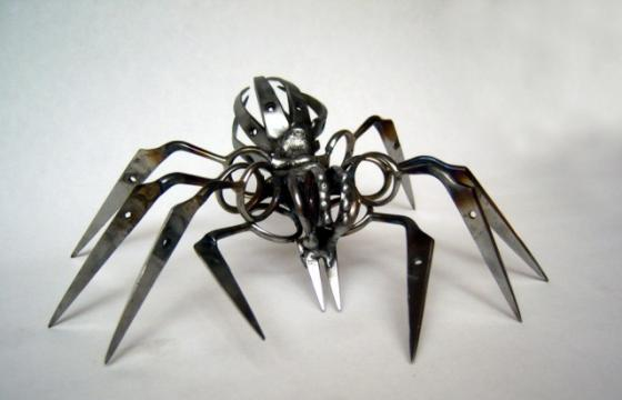 Scissor Spiders by Christopher Locke