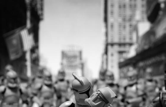 Recreating Famous Photographs via Star Wars
