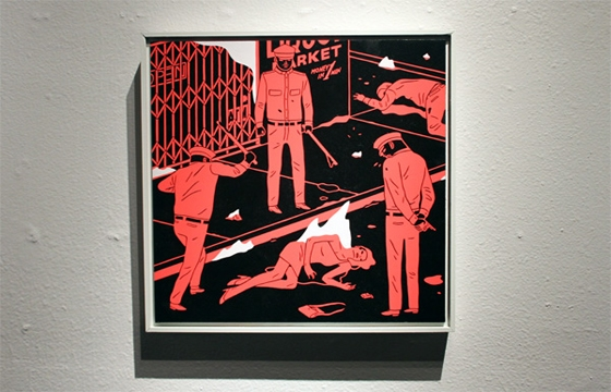 IN L.A.: Cleon Peterson @ New Image Art