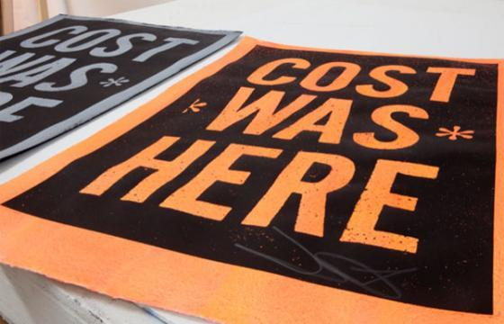 Cost Was Here Prints