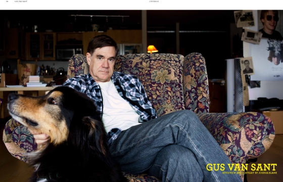 Gus Van Sant, March 2011