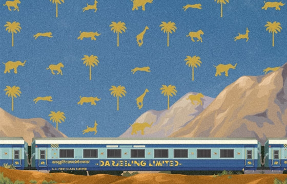 Postcards from Fictional Locations of Wes Anderson Films