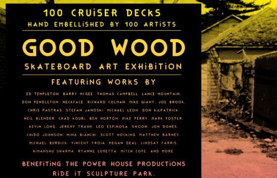 Live: Good Wood 2012 Skateboard Art Exhibition