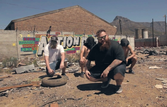 Video: Adventure Time with Action Bronson and the Smart Crew - South Africa