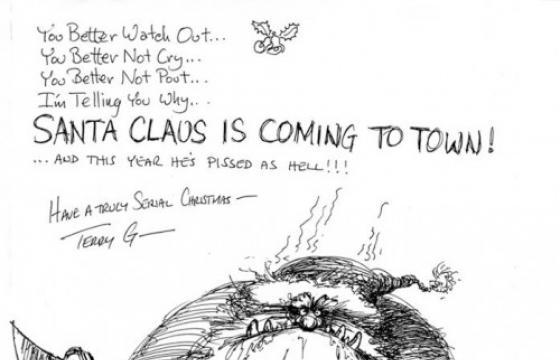 A Christmas Message from Terry Gilliam
