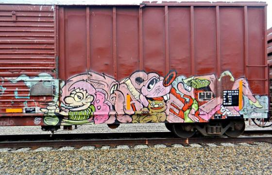 Baer on a Freight