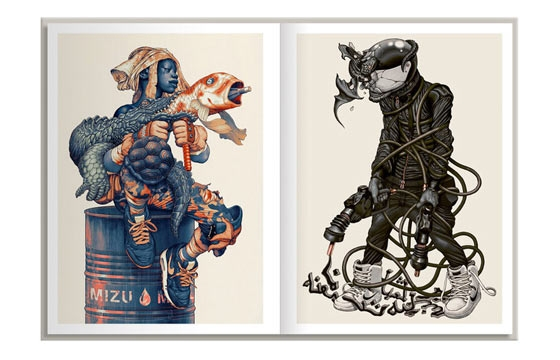 "James Jean's New Book ""Xenograph"""