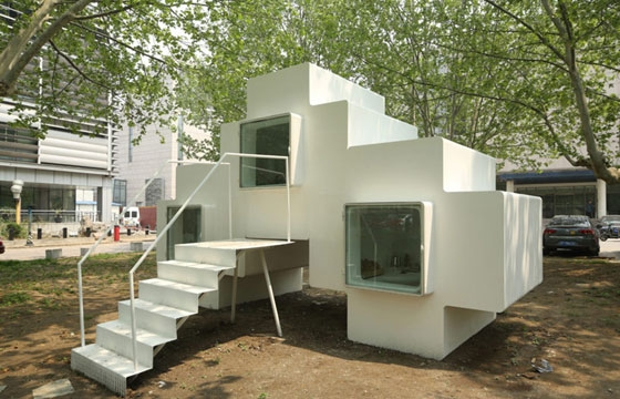 Micro House by Studio Liu Lubin in Beijing