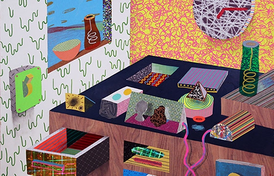 "Tim Furey's ""Interior Spaces"""