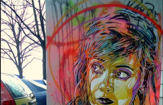 C215 in Berlin and Paris