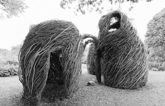 In Street Art: Woven Sculptures by Patrick Dougherty
