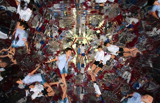 Kaleidoscopic Tunnels Create Mesmerizing Children's Playground