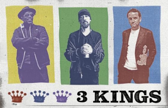 3 Kings (Futura 2000, Lee Quinones, and Fab 5 Freddy) at Subliminal Projects