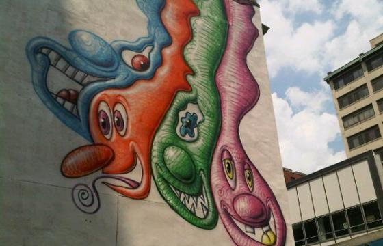 Kenny Scharf in Philly