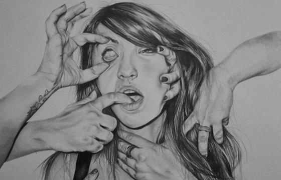 Drawings by Hannah Scott
