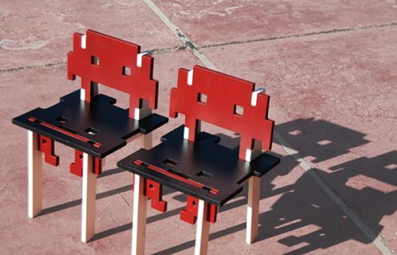 The Game Over Chair by DoKC Lab