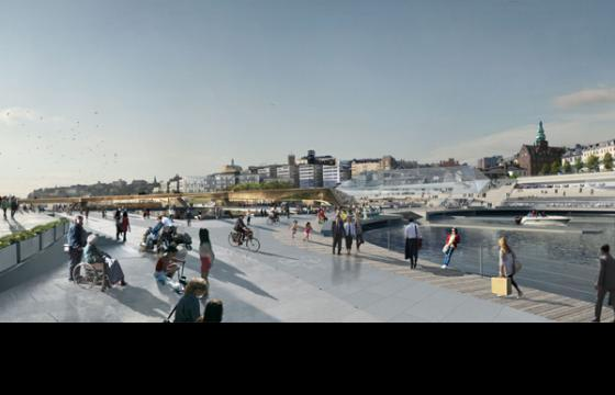 Slussen Waterfront Redevelopment