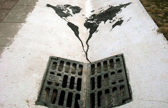 Do You Think The World Is Going Down The Drain?