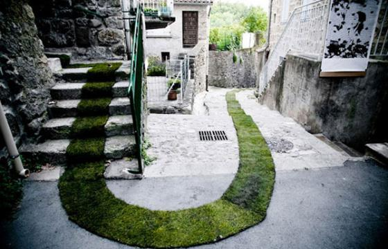 Grass Carpeted Streets