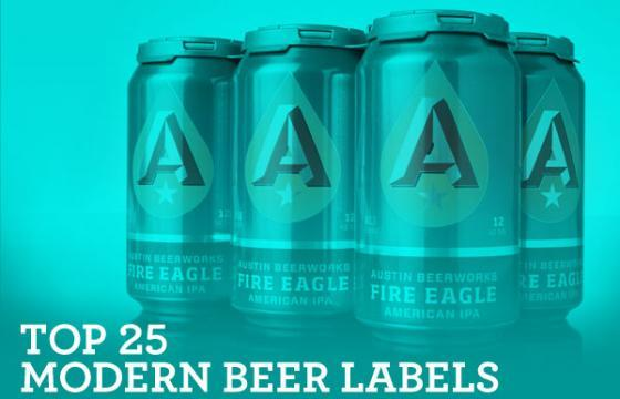 Top 25 Modern Beer Labels