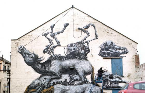 ROA at White Walls in San Francisco