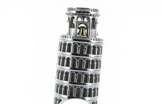 London and Pisa Rings by Philippe Tournaire