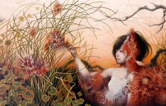 Paintings by Japan's Ai Shinohara