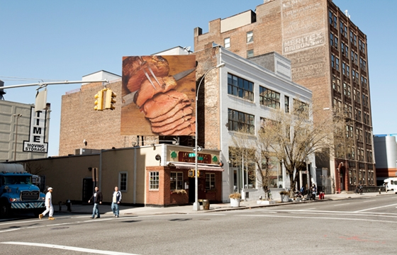 Brion Nuda Rosch's Meat Billboard