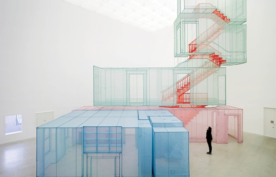 "Video of Do Ho Suh's Installation ""Perfect Home"""