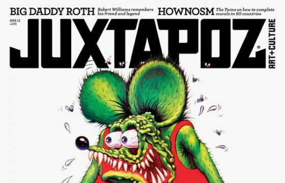 Teaser: April 2012 Issue featuring Rat Fink & HowNosm