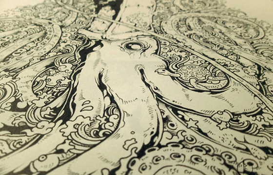 The Doodle Art of Kerby Rosanes