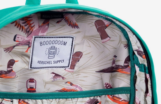 The Herschel Supply x Booooooom Heritage backpack