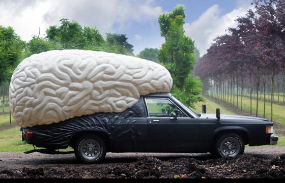 The BrainCar by Olaf Mooij
