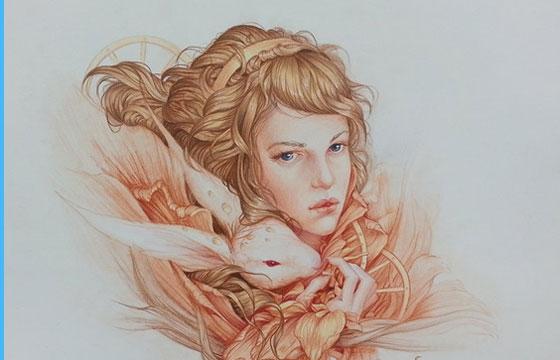 The Delicate Fantasy World of Jennifer Healy