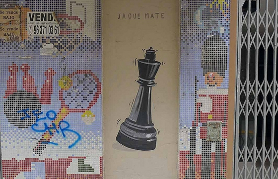 """Jaque Mate"" by Escif"
