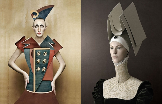 Christian Tagliavini and his Paper, Plywood, and Cardboard Dolls