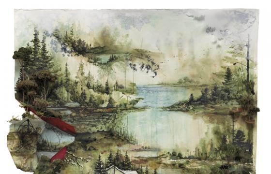 Gregory Euclide for Bon Iver Album Cover