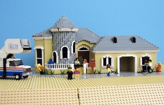 Arrested Development Made of Legos