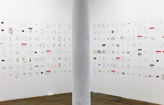 "Ceal Floyer's ""Works on Paper"""