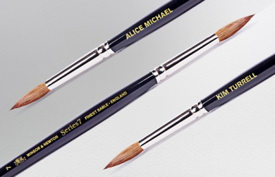 Win a personalised iconic Series 7 brush from Winsor and Newton