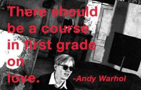 Andy Warhol On Love