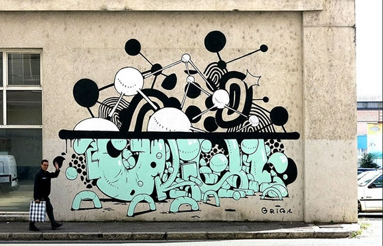 New Gris1 piece in Lyon, France
